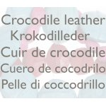 croco leather components