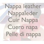 Nappa leather components