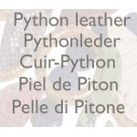 Python leather components