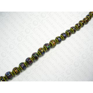 INDIANA 20mm Black-Yellow-Brown-red-Green ISS