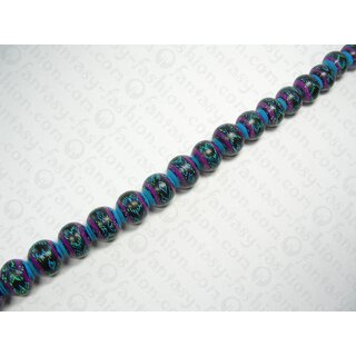 INDIANA 22mm Black-Blue-Lila-Green ISS
