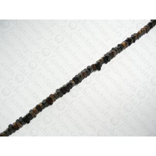 TIGER ebony 12x10x4-5mm Sharp Nugget Beads  RS