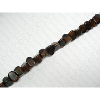 TIGER ebony 22x18x15mm Sharp Nugget Beads HS