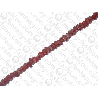 resin opaque deep red nuggets 8x5mm IS