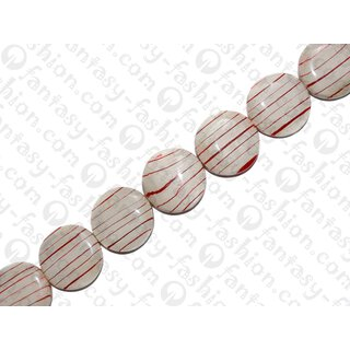 resin wood blood line ufo 35x12mm red