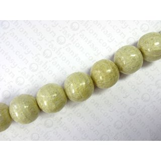 Resin ball beads laminated banana bark ca.25mm