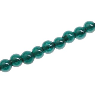 Glasperlen Shiny Green round / 8mm / 50pcs.